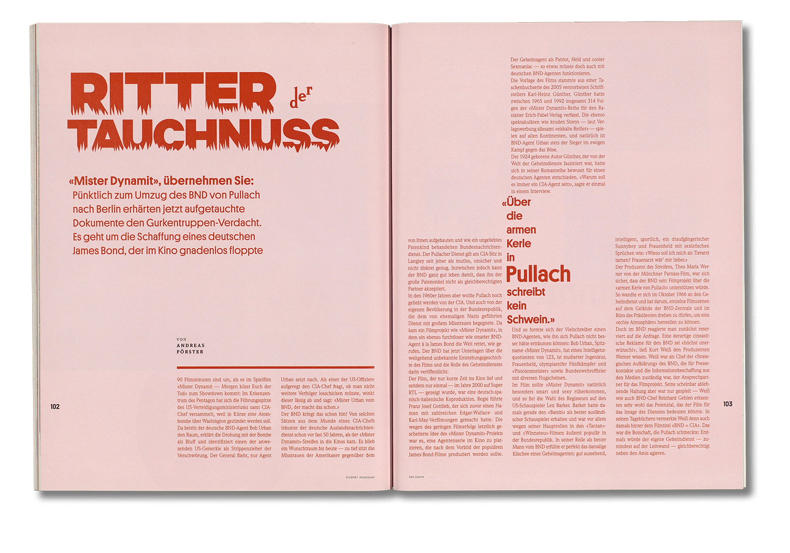 Dummy Magazine #4